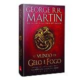 capa de O Mundo de Gelo e Fogo. Nova Edição Exclusiva Amazon + Genealogia das grandes casas de Westeros