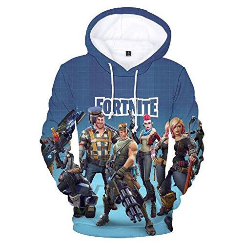 Fortnite Heroes Fortnite Gamers Youth Sweatshirt Pullover 3d Print Funny Hoodie Llama Crew Neck Battle Royal Zombie