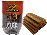Terracycle Fire Starters -  Fireplaces, Campfires, Wood Stoves or Fire Pits - Compressed Resin Rich Wood - Packed in a Recycled 2 Liter Bottle