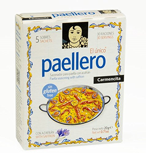 Price comparison product image Paellero Paella Seasoning from Spain (5 packets)