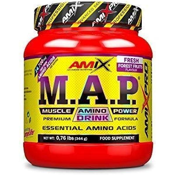 Amix MAP Powder 344 Gr Frutas Del Bosque 340 g: Amazon.es