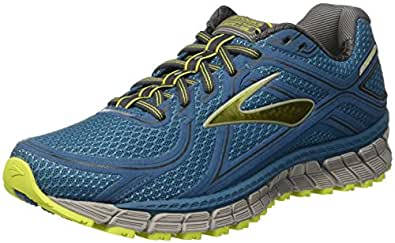 Brooks Men's Adrenaline ASR 13 Moroccan Blue/Lime Punch/Anthracite 13 D US