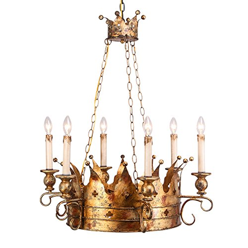 Crown Pendant Light in US - 8