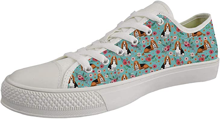 Showudesigns Cute Sneakers High Top Canvas Shoes for Kids Boys Girls Outdoor Travel