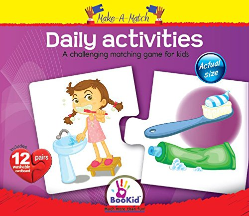 Make a Match, Daily Activities Matching Game by DEXTER EDUCATIONAL PLAY