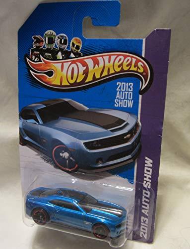 Hot Wheels 2013 Auto Show Blue Chevy Camaro Special Edition! (2013 Camaro Hot Wheels Edition For Sale)