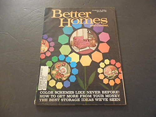 Better Homes Gardens Apr 1963 Color Schemes; Storage Ideas; Money