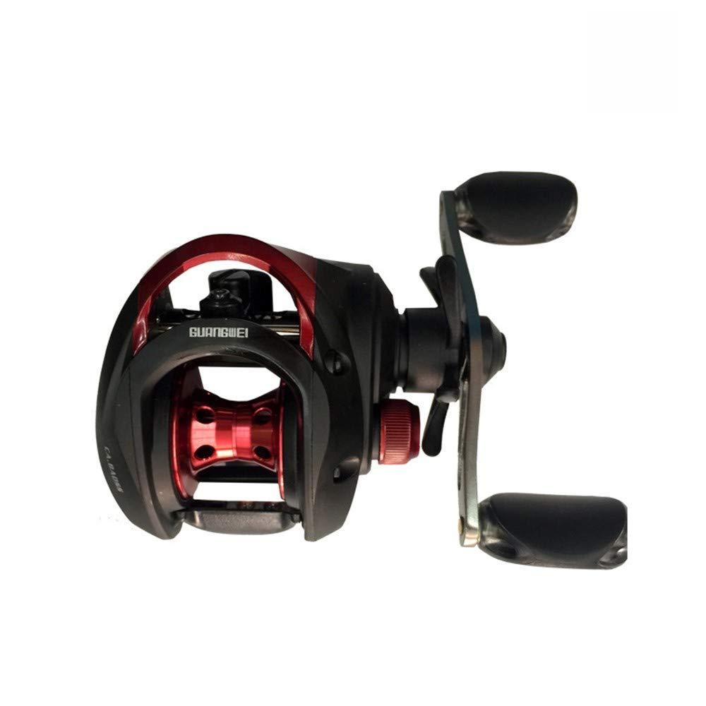 1 Gear Ratio Water Drop Fishing Reel Brake Wheel V-shape Metal Line Cup 7.1