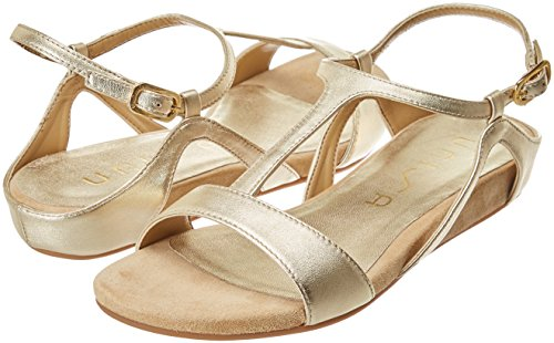 Toe Gold lmt platino Platino Sandals Open Unisa Women''s Alace I7p66U
