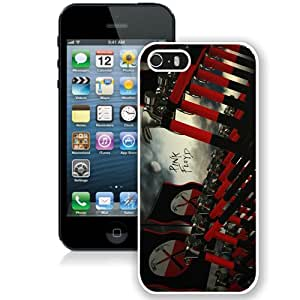 Hot Sale And Popular iPhone 5 5S Case Designed With Pink Floyd White iPhone 5 5S Phone Case