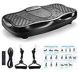 TODO Vibration Platform Power Plate Whole Body Vibrarating Massager Machine Remote Control/Bluetooth Music/USB