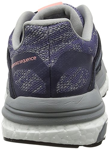 Mid Grey adidas Supernova Scarpe Sequence Silver Viola W Purple Running 9 Super Donna Metallic O6x7w