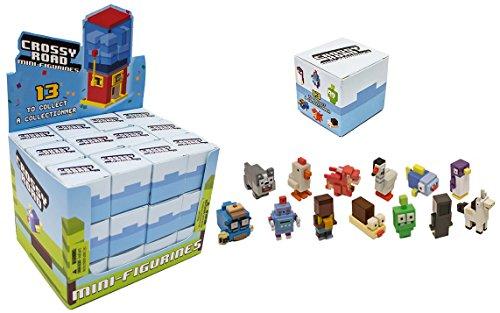 Mystery Box Mini Figure (Crossy Road Mystery Mini Figure Blind Box of 36 Packs : Includes 36 Random Figures)