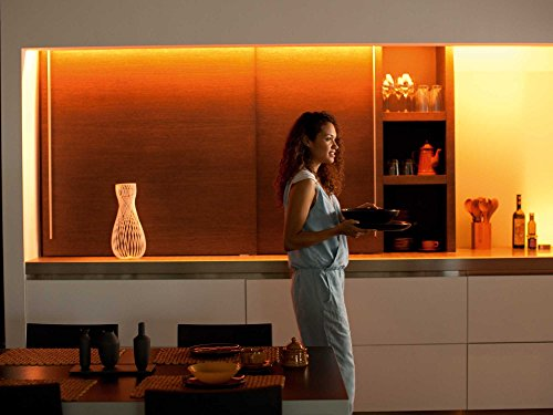 Philips Hue LightStrip Plus Dimmable LED Smart Light (Compatible with Amazon Alexa, Apple HomeKit, and Google Assistant)