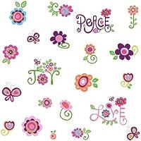 RoomMates RMK1649SCS Love, Joy, Peace Peel & Stick Wall...