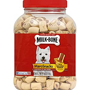 Milk-Bone 2 Count Marosnacks for Dogs in 40 oz Jar, Small