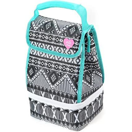 9650c4e91c Amazon.com  Arctic Zone Insulated 2 Compartment Lunch Bag with ...