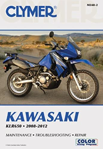 kawasaki klr650 2008 2012 clymer manuals motorcycle repair rh amazon com Horn Wiring Diagram KLR 600 Vacuum Diagram