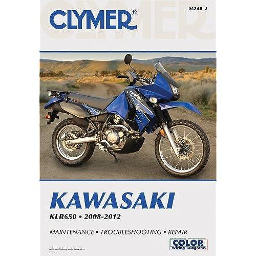 clymer motorcycle repair manual amazon com rh amazon com KLR 650 2018 2015 KLR 650