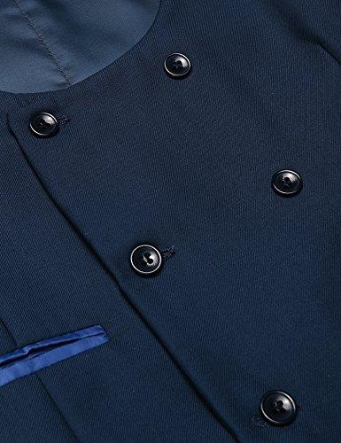 Bleu Blazer Bleu Homme Homme Blazer Jinidu Jinidu Jinidu Homme Bleu Blazer Xq86qOaw