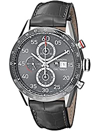 TAG Heuer Men's CAR2A11.FC6313 Carrera Analog Display Swiss Automatic Grey Watch