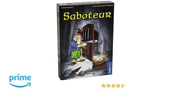 Giochi Uniti - Saboteur Juegos de Cartas associato al Mecanismo ...