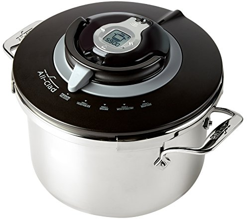 All-Clad PC8 Precision Stainless Steel Pressure Cooker Cookware Review