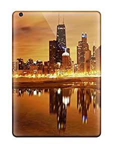 New Tpu Hard Cases Premium Ipad Air Skin Cases Covers(chicago Skyline)