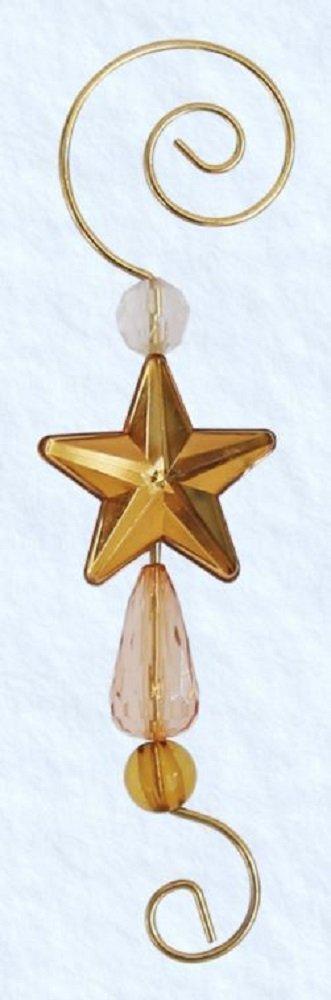 Old World Christmas Christmas Ornament Star Hooks (6 Pack)