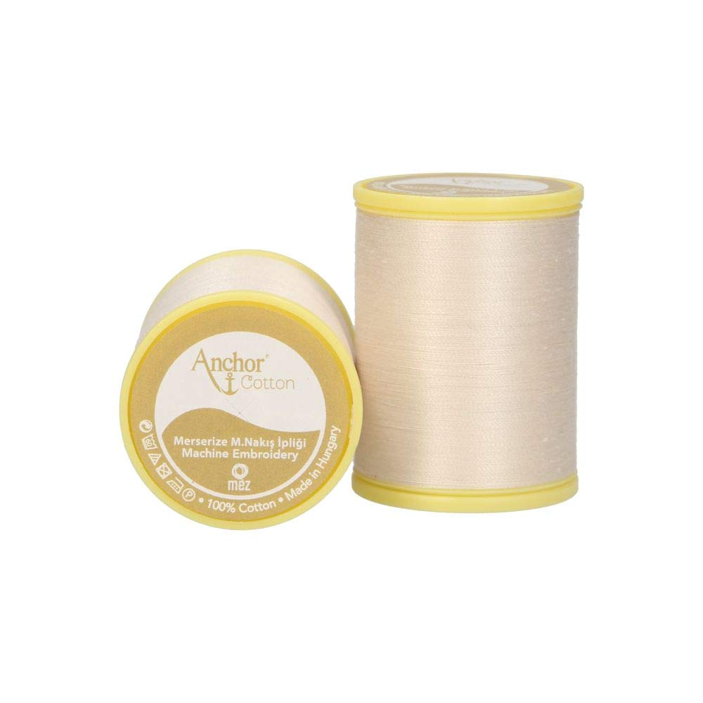 25 g 30 1 Anchor Cotton Nr 4cm x 4cm x 5,5cm Hilo para m/áquina de Coser 100/% algod/ón