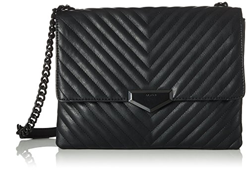 Black Bag Cross Black Body Aldo Angle Synthetic Women's xXvI71zqw