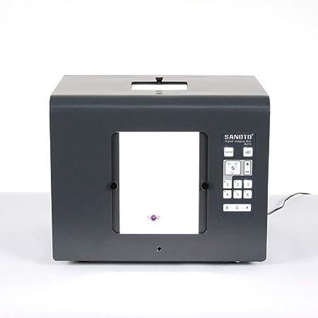 QWERTOUY Mini Estudio fotográfico LED Fotografía Caja de luz Caja de Fotos Softbox B270 Joyas, Cajas de iluminación de Diamantes: Amazon.es: Hogar