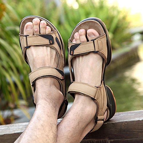 SK Studio - Zapatos con tacón Hombre marrón claro