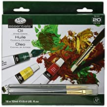 Royal Brush and Langnickel Oil Color Paint, 20-Piece (Packaging may vary)