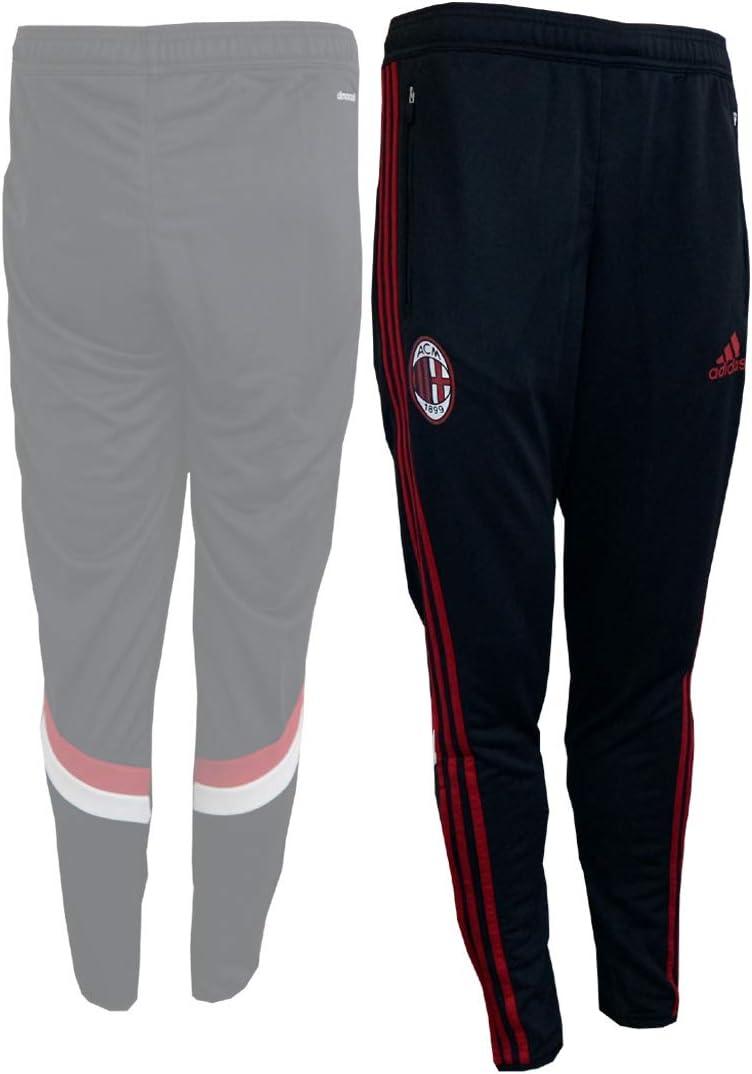 Black 2014-2015 AC Milan Adidas Training Pants
