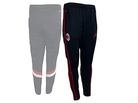 cd76be70f8 2014-2015 AC Milan Adidas Training Pants (Black): Amazon.it: Sport e ...