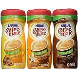 Coffee-mate Sugar Free Three(3) Flavor Bundle - Vanilla Caramel, Creamy Chocolate, and Hazelnut