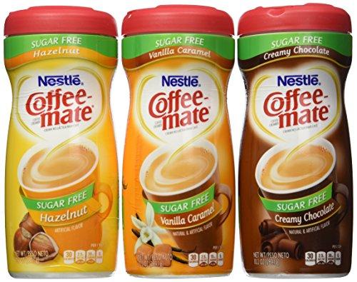 Coffee mate Sugar Free Flavor Bundle Chocolate