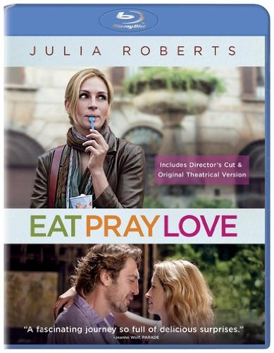 Blu-ray : Eat Pray Love (Extended Edition, Dolby, AC-3, , Dubbed)