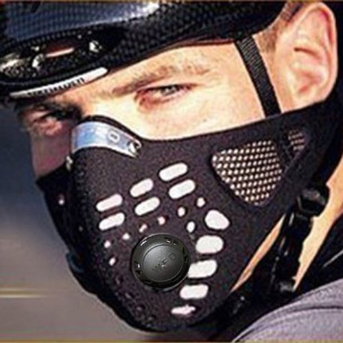 Generic Bestpriceam Anti Dust Cycling Bicycle Bike Motorcycle Racing Ski Half Face Mask