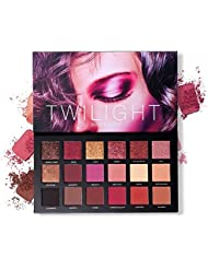 Professional 18 Pigmented Eye shadow, 10 Matte + 8 Shimmer, Velvet Texture Blendable Long Lasting Eyeshadow Palette
