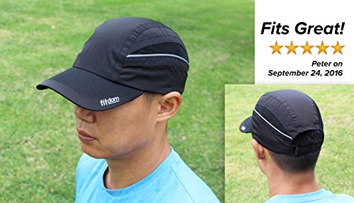 Amazon.com  Fitdom Lightweight Sports Cap for Men and Women 1474aa79540