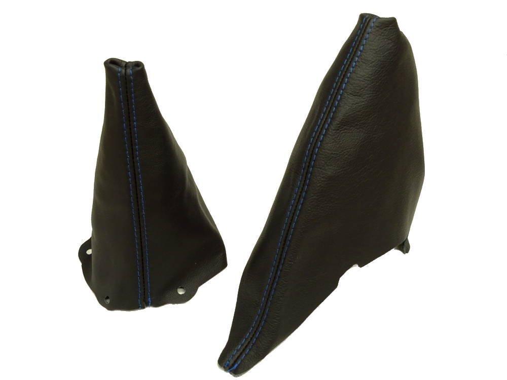Para Mini Cooper R50/R53/s-one 2001/ /2006/Manual Gear /& para freno de mano negro cuero italiano