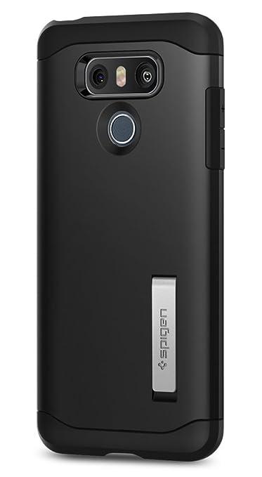 11 opinioni per Cover LG G6, Spigen® [Slim Armor] Cuscino d'aria [Nero] Angoli di protezione e