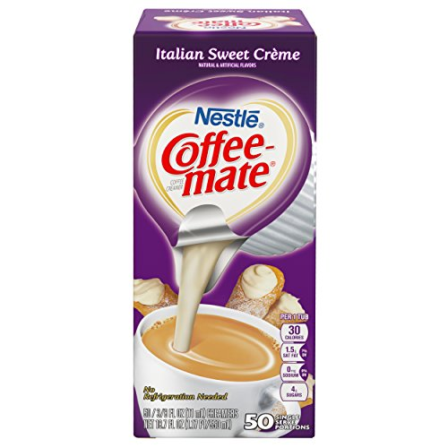 NESTLE COFFEE-MATE Coffee Creamer, Italian Sweet Creme, liquid creamer singles, Pack of 200 by Nestle Coffee Mate (Image #3)