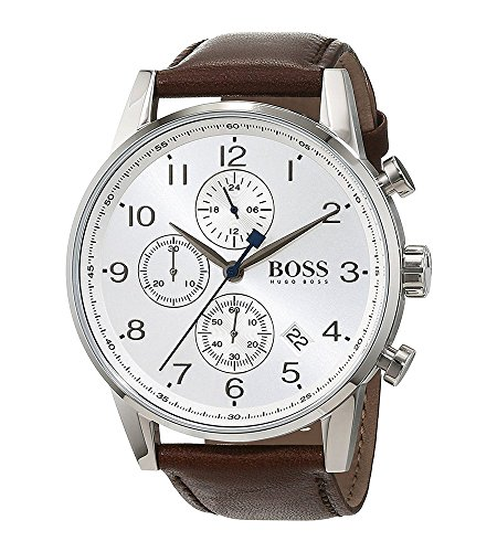 Amazon.com: Boss NAVIGATOR CLASSIC 1513495 Mens Chronograph Classic & Simple: Hugo Boss: Watches
