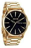 All Gold/Black The Sentry SS Watch by Nixon
