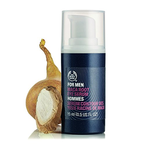 The Body Shop For Men Maca Root Eye Rescue Serum  0 5 Fluid Ounce  Packaging May Vary