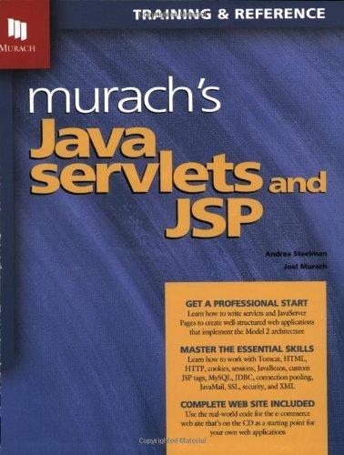 Murach's Java Servlets & JSP (03) by Steelman, Andrea - Murach, Joel [Paperback (2003)] by Mike Murach & Asociates, Paperback(2003)