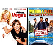 What Happens in Vegas , Without a Paddle : Comedy 2 Pack